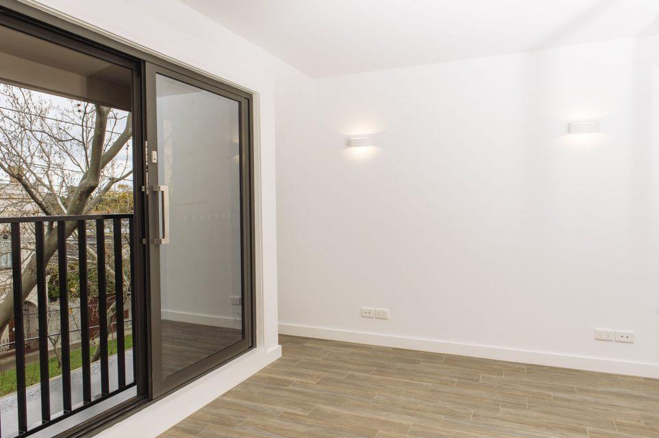 Photograph of sliding door at 6-2 Seymour avenue